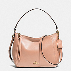 COACH F51900 - MADISON TOP HANDLE IN LEATHER  LIGHT GOLD/ROSE PETAL