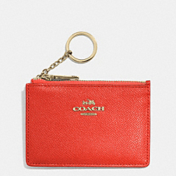 COACH F52394 Mini Skinny In Embossed Textured Leather LIWM3