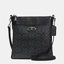 COACH F52400 - NORTH/SOUTH SWINGPACK IN SIGNATURE  SVDH6