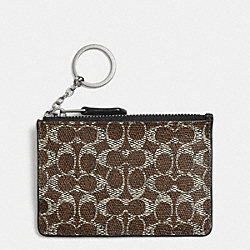 COACH F52457 Mini Skinny In Signature AKAA8