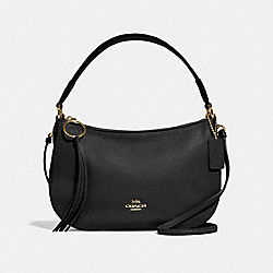 COACH F52548 Sutton Crossbody GD/BLACK