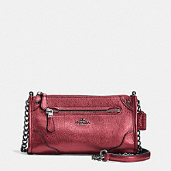 COACH F52646 Mickie Crossbody In Grain Leather QBE42