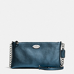 COACH F52709 Quinn Crossbody In Pebble Leather SVBL9
