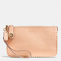 COACH F52778 Turnlock Wristlet 21 In Whiplash Leather LIAPR