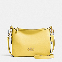 COACH F52800 - ENVOY CROSSBODY IN POLISHED PEBBLE LEATHER  LIGHT GOLD/PALE YELLOW