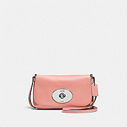 LIV CROSSBODY POUCH - f52896 - SILVER/PINK