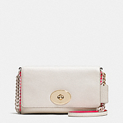 COACH F53235 Crosstown Crossbody In Pop Lacing Whiplash Leather LICAH