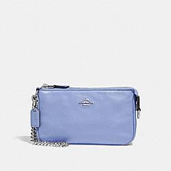 COACH F53340 Large Wristlet 19 SILVER/POOL