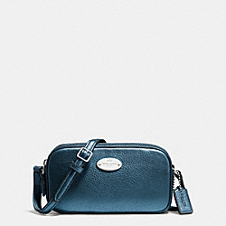 COACH F53372 Crossbody Pouch In Pebble Leather SVBL9