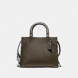 COACH F53405 - ROGUE 25 WITH RIVETS V5/DARK OLIVE