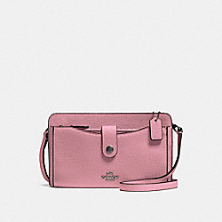 COACH F53529 - NOA POP-UP MESSENGER DUSTY ROSE/DARK GUNMETAL