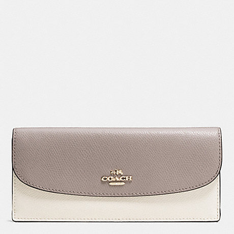 Soft wallet - Grey Coach 3RTb6t