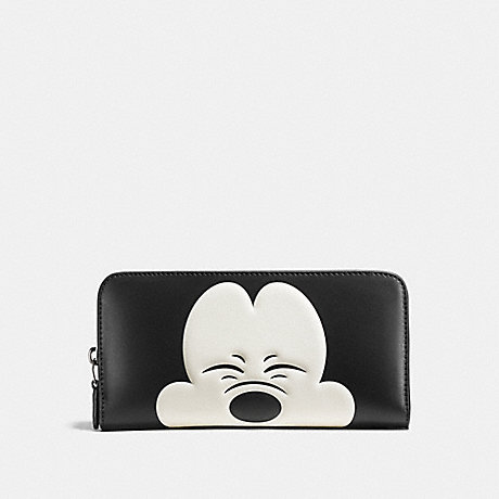 official photos 8905f 6b3b3 COACH F54000 - MICKEY ACCORDION ZIP WALLET IN GLOVETANNED ...