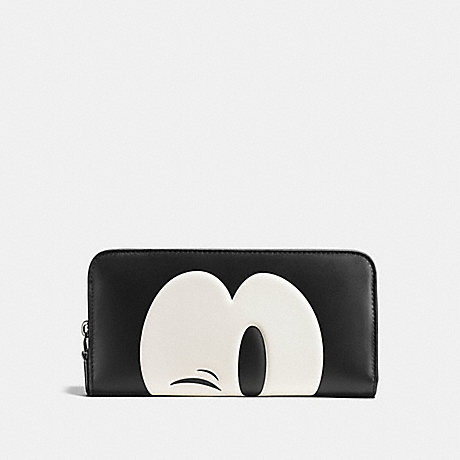 promo code 8a461 b8f36 COACH - ACCESSORIES - MICKEY ACCORDION ZIP WALLET IN ...