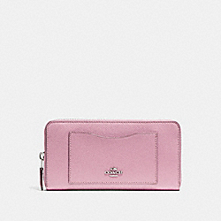 COACH F54007 Accordion Zip Wallet TULIP