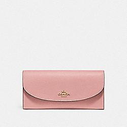 COACH F54009 Slim Envelope Wallet IM/PINK PETAL