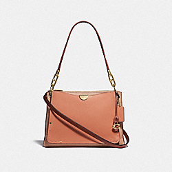 DREAMER SHOULDER BAG IN COLORBLOCK - F54163 - GD/SUNRISE MULTI