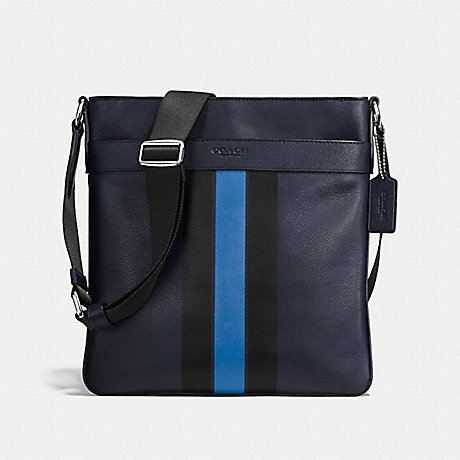 927ff5b58caa COACH F54193 - CHARLES CROSSBODY IN VARSITY LEATHER - MIDNIGHT DENIM ...