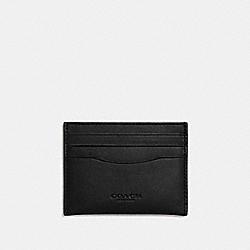 COACH F54441 Card Case DK/BLACK