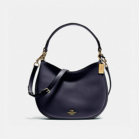 COACH f54446 MAE CROSSBODY NAVY/LIGHT GOLD