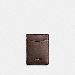 COACH F54466 3-in-1 Card Case MAHOGANY
