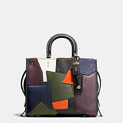 COACH F54552 - ROGUE WITH PATCHWORK OL/BLACK MULTI