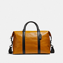 VOYAGER BAG - f54765 - FAWN/BLACK ANTIQUE NICKEL