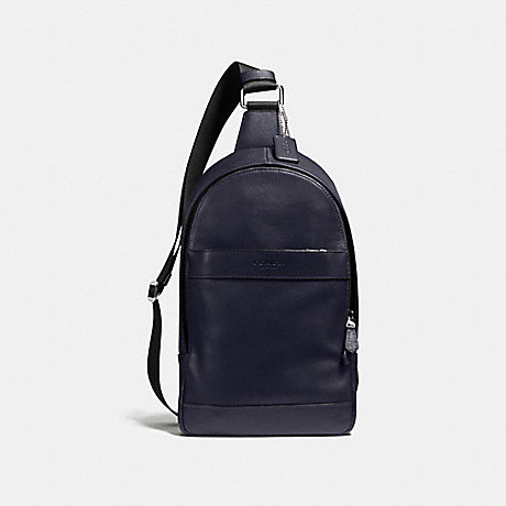 a7ef3245e478 COACH F54770 - CHARLES PACK IN SMOOTH LEATHER - MIDNIGHT