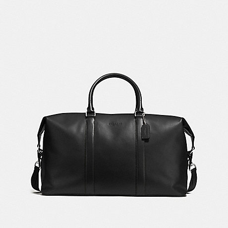 COACH f54802 VOYAGER BAG 52 IN SPORT CALF LEATHER BLACK