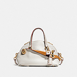 COACH F55021 - OUTLAW SATCHEL 36 CHALK/OLD BRASS