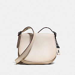 COACH F55036 Saddle 23 CHALK/BLACK COPPER