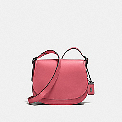 COACH F55036 Saddle 23 PEONY/BLACK COPPER