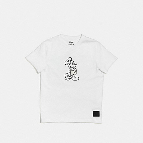 COACH F55146 MICKEY T-SHIRT WHITE