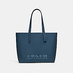 COACH F55199 Highline Tote SV/DARK DENIM