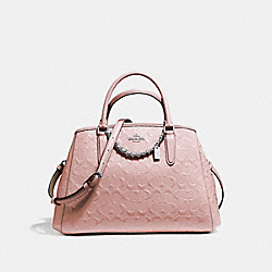 SMALL MARGOT CARRYALL - f55451 - SILVER/BLUSH 2
