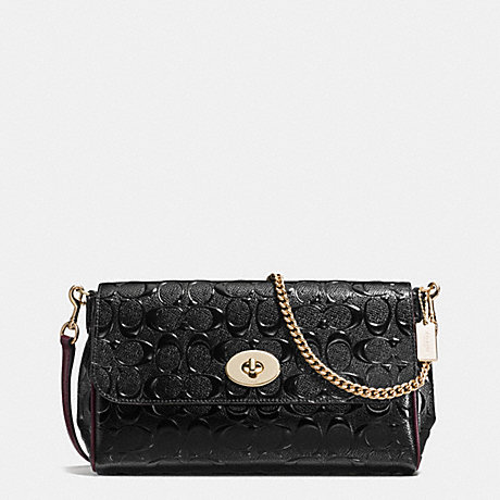 Coach F55452 Ruby Crossbody In Signature Debossed Patent