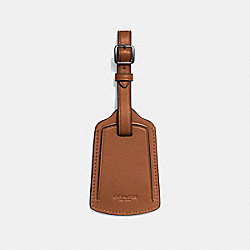 COACH F55467 Luggage Tag SADDLE
