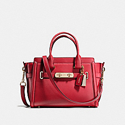 COACH SWAGGER 27 - f55496 - RED CURRANT/LIGHT GOLD