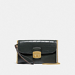 CHAIN CROSSBODY - F55617 - IVY/IMITATION GOLD