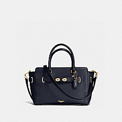 COACH F55665 - BLAKE CARRYALL 25 MIDNIGHT/LIGHT GOLD