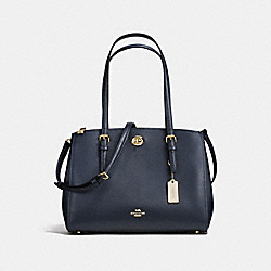 COACH F55679 - TURNLOCK CARRYALL 29 NAVY/LIGHT GOLD