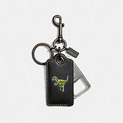 COACH F56144 Rexy Bottle Opener BLACK