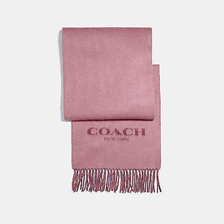 COACH F56209 DOUBLE FACED MUFFLER PINK PETAL