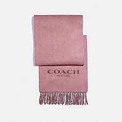 COACH F56209 - DOUBLE FACED MUFFLER PINK PETAL