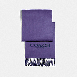 COACH F56209 - DOUBLE FACED MUFFLER VIOLET