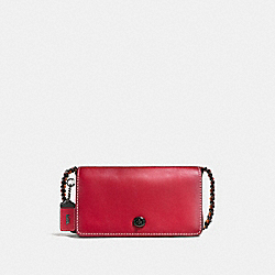 COACH F56263 - DINKY IN COLORBLOCK 1941 RED/CHALK/BLACK COPPER