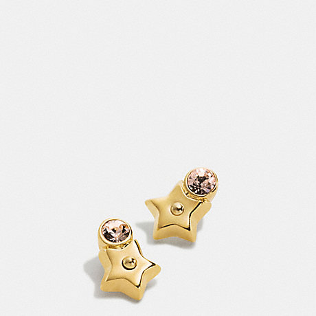 coach stud earrings coach f56634 and stud earrings gold coach 6096