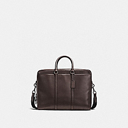COACH F56658 - METROPOLITAN COMMUTER CHESTNUT/BLACK ANTIQUE NICKEL