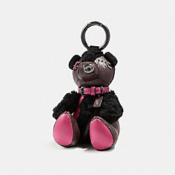 COACH F56746 - OUTLAW BEAR BAG CHARM BKOXB