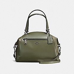 COACH F56818 - PRAIRIE SATCHEL SURPLUS/DARK GUNMETAL